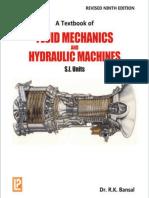 A Text Book of Fluid Mechanics and Hydraulic Machines - R. K. Bansal