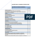 Rubricas de Evaluacion Dialogo y Escrita