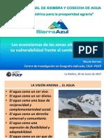Los Ecosistemas de Las Zonas Altoandinos