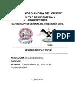 Reducción y Aprovechamiento de Residuos Solidos en El Perú