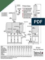 PD Series Spray Tray Deaerator