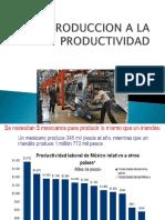 1.1 Introduccion a La Productividad (1)