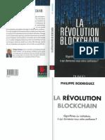 RODRIGUEZ, Phillipe - La révolution bloackhain