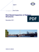 Risk Based Inspections for Highway Structures