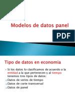 Modelos de Datos PanelIII)