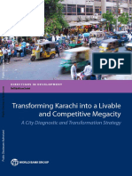 Transforming Karachi into a livable and competitive megacity