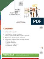 Módulo I - Curso 1 - Participación Política y Ciudadania