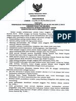 103 Perubahan No 66 Pengumuman Pembentukan Tim Sel