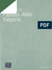Alain Caillé - Faydacı Aklın Eleştirisi - İletişim