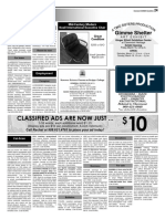Claremont COURIER Classifieds 3-9-18