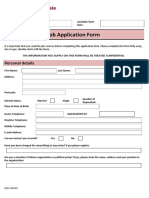 MCI - Job Application Form