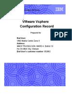 Vmware Vsphere Configuration Record [7!8!2013] v 2.1