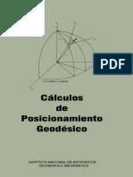 Informacion Complementaria Calculos de Posicionamiento Geodesico Inegi