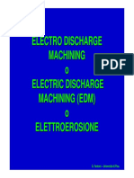 PPI1 - Electro Discharge Machining_Introduzione
