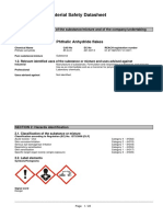 MSDS Phthalic Anhydride