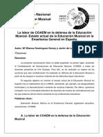 Comunicacion Blanca Dominguez y Javier de Lara