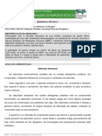 Processo Produtivo de Sabonetes is