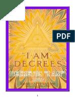 Decretos Del I AM. Edición 1937