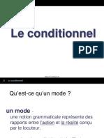 1 Le Conditionnel Intro