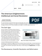 1 the american enlightenment intellectual and social revolution