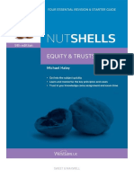 Nutshells Equity & Trusts - Michael Haley