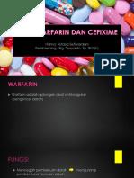 warfarin dan cefixime