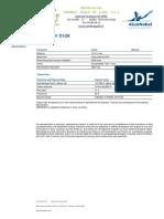 Inibitore Di Corrosione Per Acido Cloridrico 821051 Tds