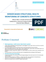 Sensor Based Structural Health Monitoring of Concrete Structures