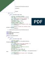 Codificacion en Lenguaje de Programacion c