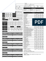 Example character sheet
