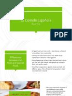 spanish project-spanish food