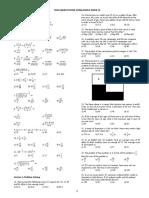 Quantitative exam sample for NMAT