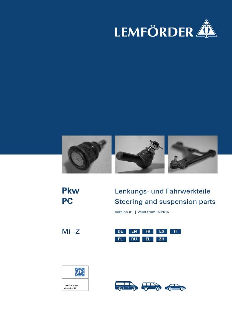 Lemf/örder 35493 01 Stange//Strebe Stabilisator