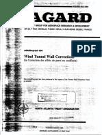 Wal Correction Agard