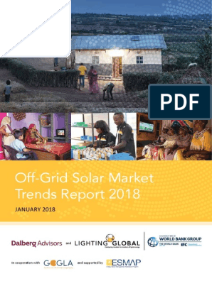 2018 Off Grid Solar Market Trends Report Full | Off The Grid