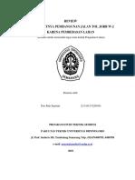 REVIEW TERHAMBATNYA PEMBANGUNAN JALAN TOL JORR W.docx