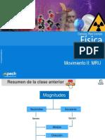 Clase 4 Movimiento II MRU