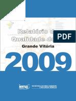 Relatório Anual de Qualidade Do Ar 2009-2