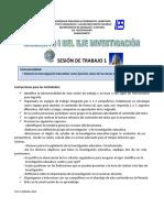 Sesión de Trabajo 1 Imp. Investig. Educativa