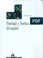 ARIZA, M. - Fonología y Fonética Históricas Del Español