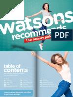 Wastsons E-Catalog 2018