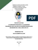 Tesis - LA SUPERVISIÓN PEDAGÓGICA Y EL DESEMPEÑO PROFESIONAL.doc
