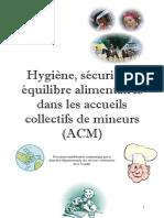 ACM Hygine Et Scurit Alimentaires Version 3
