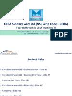 Cera Sanitaryware Ltd (NSE Code - CERA) - Katalyst Wealth Alpha Recommendation.pdf