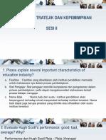 Tugas Manajemen Stratejik & Kepemimpinan Sesi II (1)
