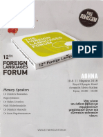 12th Foreign Language Forum
