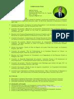 Sergio D. Picco Ortiz Curriculum Vitae Breve