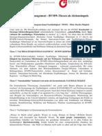 Nachhaltigkeitsmanagement - BVMW-Thesen Als Aktionsimpuls