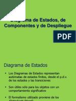 Diagrama Estados Componentes y Despliegue