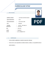 Curriculum Julio Melvi Ventura Avalos